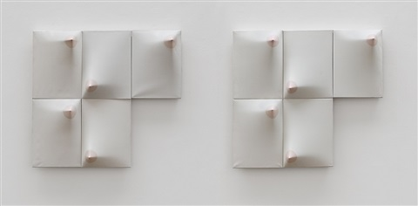 mujer (de la serie el silencio de eros) [woman (of the silence of eros series)] by zilia sanchez